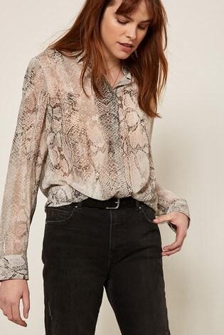5d7325e64c6e0 Buy Mint Velvet Sasha Snake Print Blouse from the Next UK online shop