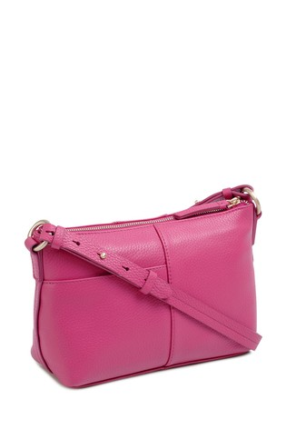 3f46aaf041 ... Radley London Pink Wood Street Medium Zip Top Cross Body Bag ...