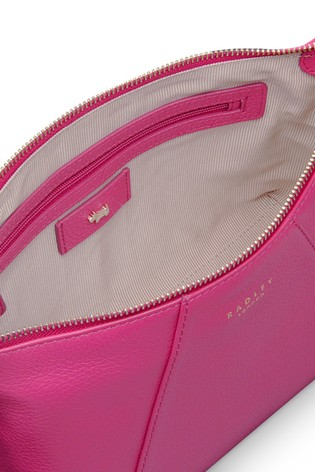 02b5ae35f5 ... Radley London Pink Wood Street Medium Zip Top Cross Body Bag. Next