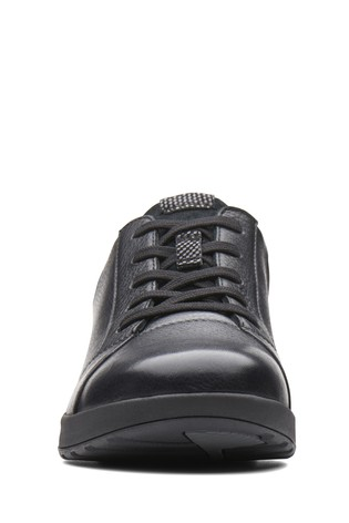 020a9566624a92 Buy Clarks Wide Fit Black Un Adorn Lace-Up Shoe from the Next UK ...