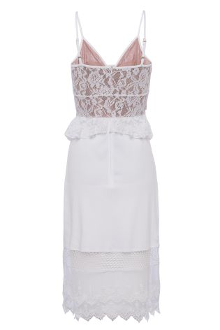 25a7c3b3083 Buy French Connection White Delos Lucky Layer Strappy Dress from Next  Ireland