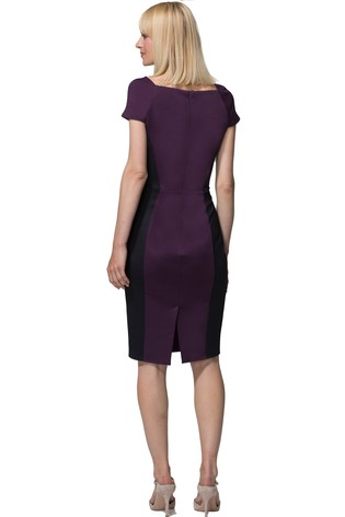 4c3304314a Buy HotSquash Damson Square Neck Pencil Dress from the Next UK ...