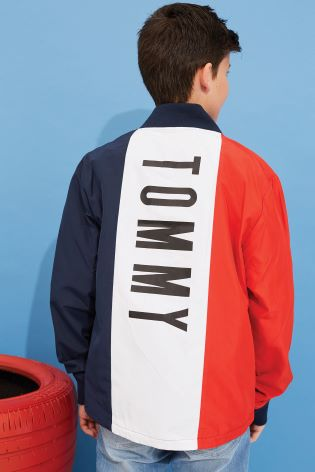 ddf048fa Buy Tommy Hilfiger Boys Blue Cracker Jacket from Next Ireland