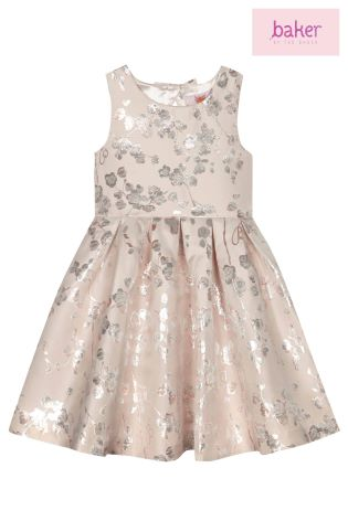 438480ba60519 Buy baker by Ted Baker Floral Blossom Jacquard Prom Dress from Next ...