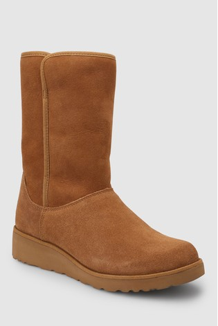 f85cab309db73 Buy UGG® Amie Chestnut Mid Wedge Boot from the Next UK online shop