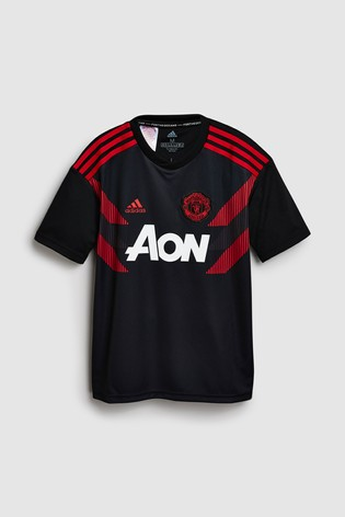 online store 85c3a 5845f adidas Manchester United FC 2018/19 Kids Pre-Match Jersey