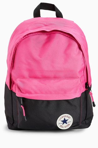 d9fcab1fb8 Buy Converse Pink And Black Backpack from the Next UK online shop