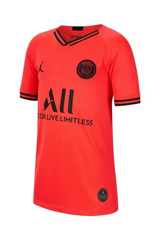 brand new d519b b2075 Nike Red PSG Youth 2019/20 Away Jersey