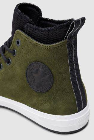 215429ae14d5a6 Buy Converse Green Leather Boot from Next Ireland