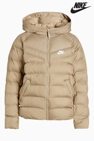 d55bfa7f7954 Buy Nike Khaki Filled Jacket from Next Netherlands