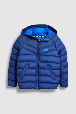 97c94d3cbbe8 Buy Nike Navy Filled Jacket from Next Lithuania
