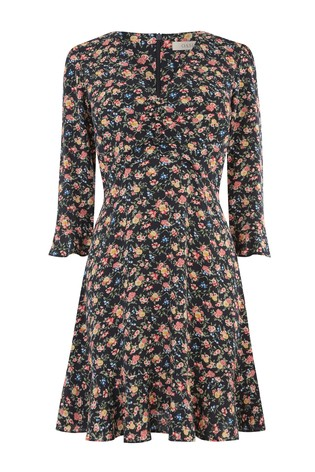 7a1ac8c33349 Buy Oasis Natural Garden Ditsy Skater Dress from Next Ireland