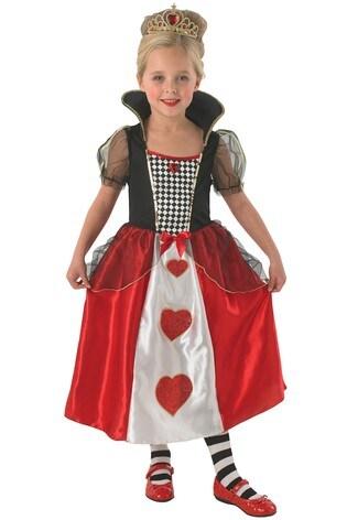 Rubies Queen Of Hearts Fancy Dress Costume