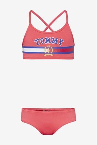 Hilfiger Tommy Girls Set Crest Bikini PkuOZXi