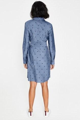 d38b078bdf Buy Boden Blue Modern Shirt Dress from the Next UK online shop