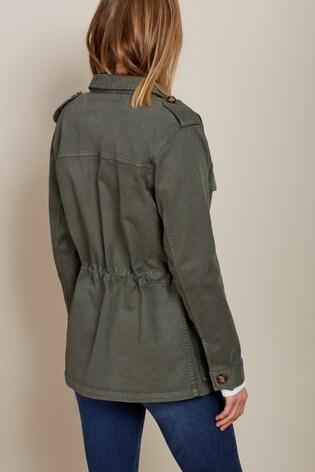 e0f2afd56 Baukjen Washed Khaki Drake Utility Jacket