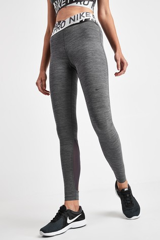 huge selection of save off shopping Nike Pro Grey Intertwist Leggings