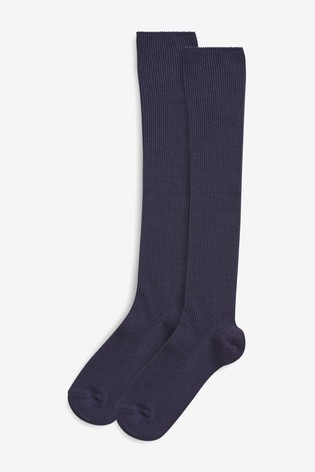 san francisco latest discount brand new Navy 2 Pack Over Knee Socks