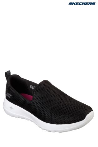 5e70a81f3dd8 Buy Skechers® Black Athletic Air Mesh Slip On from Next Ireland