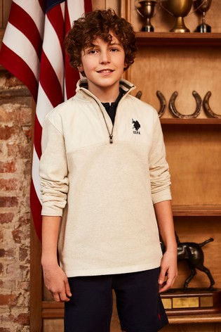 ba4239448 Buy U.S. Polo Assn. Half Zip Sweatshirt from Next Egypt