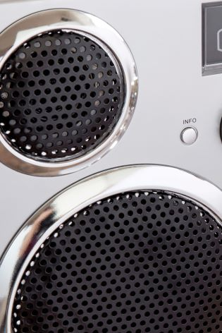 GPO Brooklyn Bluetooth, CD, Radio And Cassette Player
