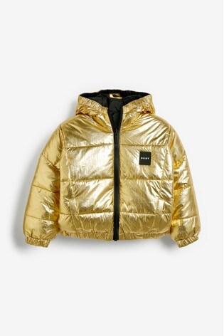 3b29246a7 DKNY Black Reversible Jacket