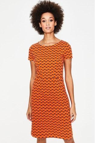 f1a9e06cd2f47 Buy Boden Orange Phoebe Jersey Dress from the Next UK online shop