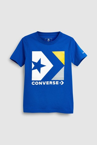 9633a2e63629 Buy Converse Star Chevron Logo T-Shirt from Next Ireland