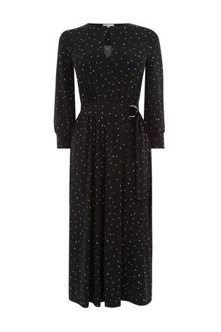 f0cafabd21c5 Buy Warehouse Black Star Print Midi Dress from the Next UK online shop