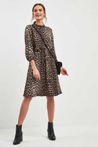 83821895cd55 Buy Tie Waist Midi Dress from the Next UK online shop