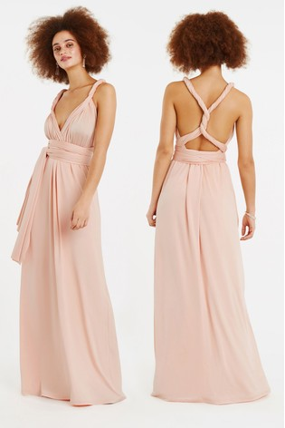 cfaefce412cb Buy Oasis Pink Annie Multiway Maxi Dress from the Next UK online shop