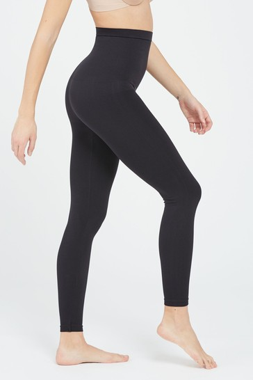 9992805986ae7 Buy SPANX® Black High Waisted Look At Me Now Leggings from the Next ...