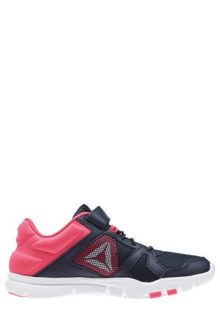f83e5c53316 Buy Reebok Gym Black Pink Your Flex Velcro from Next Ireland