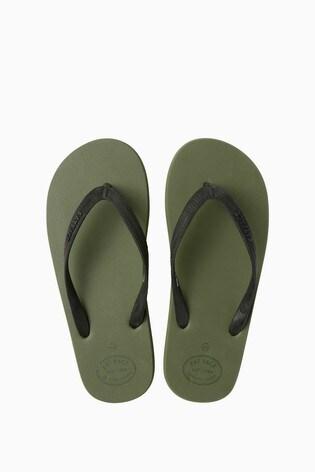 da4e765f8 Buy FatFace Green Henley Flip Flop from the Next UK online shop
