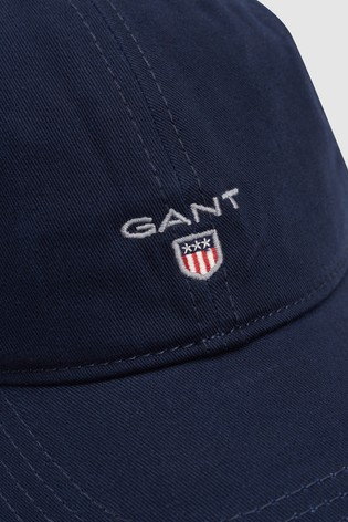 Buy GANT Navy Twill Cap from the Next UK online shop b4d9e42e1ea