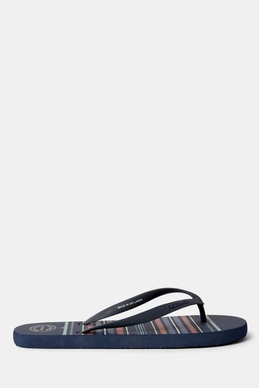 7afe0f64f Buy FatFace Blue Henley Stripe Flip Flop from the Next UK online shop