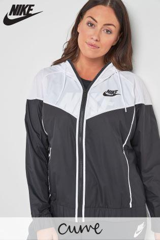 d4a83f63c12b Buy Nike Curve Sportswear Black Windrunner Jacket from Next Ireland