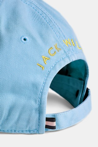 c8e21edc1cc Buy Jack Wills Sky Blue Enfield Striped Pheasant Cap from Next Malaysia