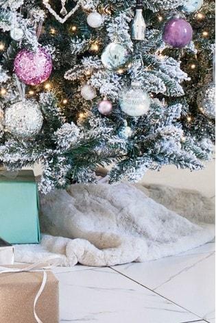Buy Cream Faux Fur Tree Skirt From Next Ireland
