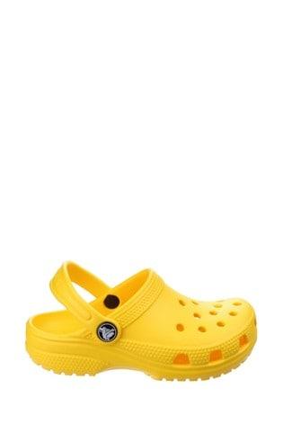 Buy Crocs™ Yellow Kids Classic Slip-On