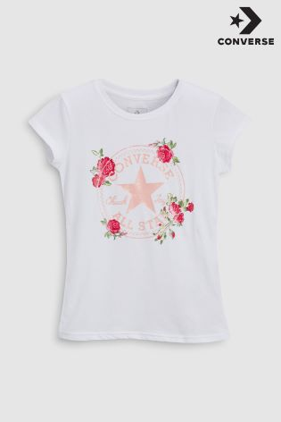 a6069b3fb62 Buy Converse Floral Chuck Tee from Next Ireland