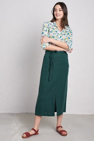 c54e4bdf9a Buy Seasalt Verte Pencil Lead Skirt from the Next UK online shop
