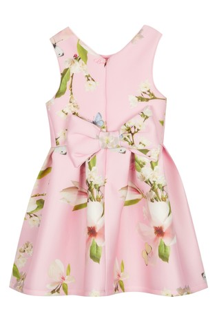 4ae1492c3 Buy baker by Ted Baker Younger Girl All Over Print Scuba Dress from ...