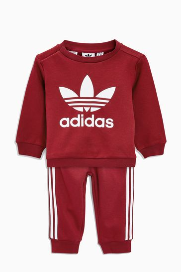 Buy adidas Originals Baby Overhead Trefoil Tracksuit from the Next ... 1d3f9e243253