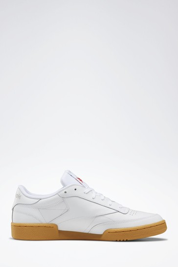 Reebok Classic Leather Club C 85 Retro Mens White Trainers