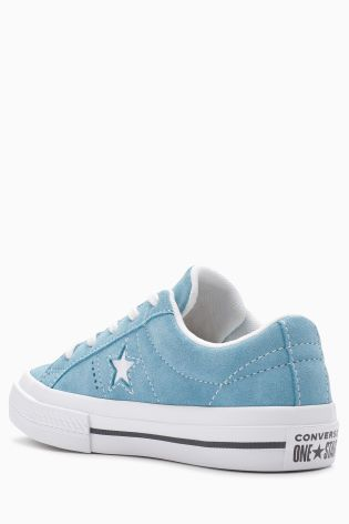 ad70a1e8a25323 Buy Converse Light Blue One Star from Next Ireland