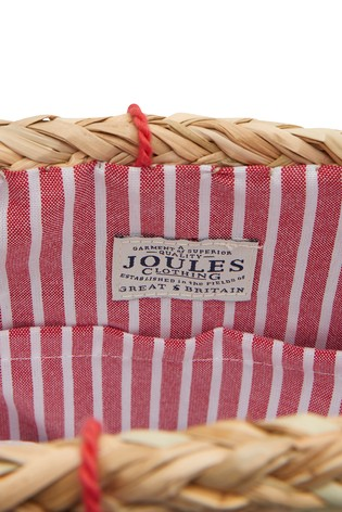 0f3ad29d871c Buy Joules Natural Amalfi Straw Summer Bag from the Next UK online shop