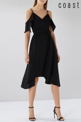 Buy Coast Black Camilla Wrap Dress From Next Ireland