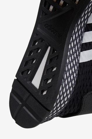 best sneakers bea21 9fc70 adidas Originals Black Deerupt Junior Trainers