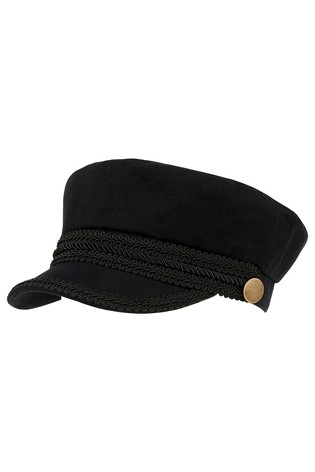 Buy Accessorize Black Baker Boy Hat from the Next UK online shop 7a16afb210b2